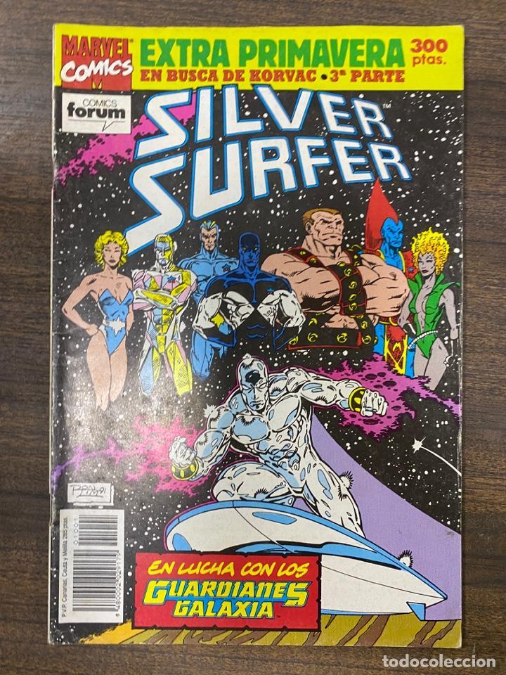 SILVER SURFER. EXTRA PRIMAVERA - EN BUSCA DE KORVAC. MARVEL COMICS. COMICS FORUM. (Tebeos y Comics - Forum - Silver Surfer)