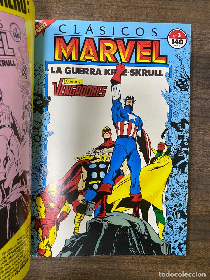 Cómics: CLÁSICOS MARVEL. NICK FURY, AGENT OF SHIELD. COMICS FORUM. CONTIENE 5 NUMEROS. LEER. - Foto 4 - 239593185