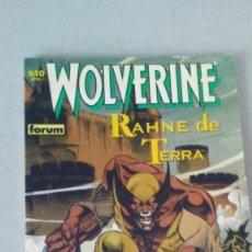 Cómics: WOLVERINE - LOBEZNO - RAHNE DE TERRA. Lote 239666600