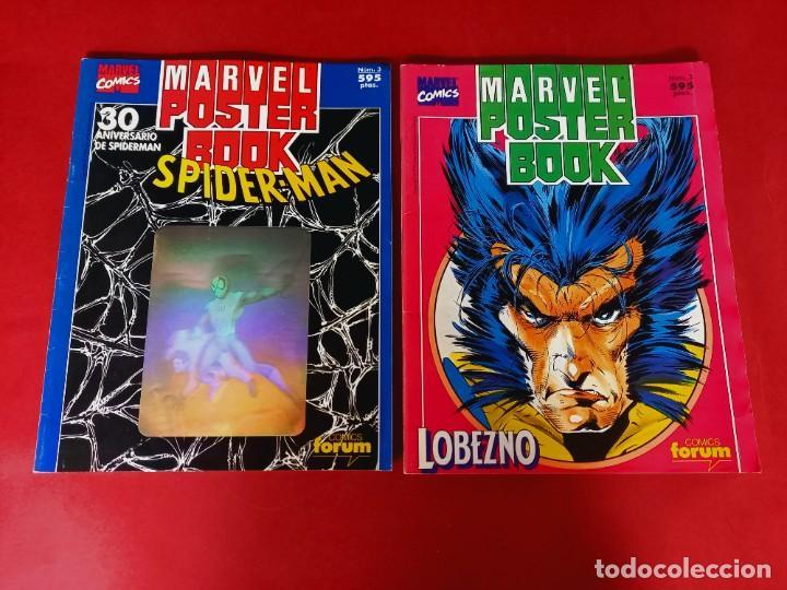 MARVEL POSTER BOOK - SPIDERMAN Y LOBEZNO - (Tebeos y Comics - Forum - Otros Forum)