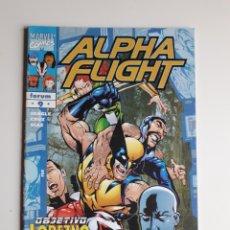 Cómics: ALPHA FLIGHT VOL 2 NUM 9. EXCELENTE ESTADO. Lote 239753480