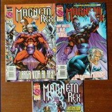 Cómics: MAGNETO REX (COMPLETA 3 NÚMEROS) - FORUM. Lote 239961590