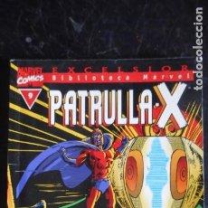 Cómics: PATRULLA X Nº 9 BIBLIOTECA MARVEL. Lote 240066095