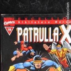 Cómics: PATRULLA X Nº 10 BIBLIOTECA MARVEL. Lote 240066415