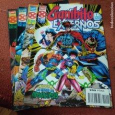 Cómics: GAMBITO Y LOS EXTERNOS 1 AL 4, COMPLETA FORUM. Lote 240068120