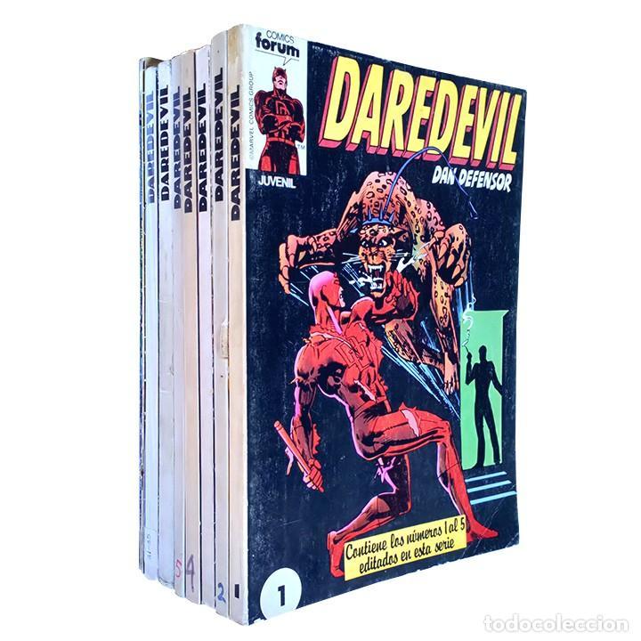 DAREDEVIL VOL 1 COMPLETA / MARVEL / FORUM 1983 - 1986 (Tebeos y Comics - Forum - Daredevil)