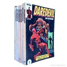 Cómics: DAREDEVIL VOL 1 COMPLETA / MARVEL / FORUM 1983 - 1986. Lote 240071210