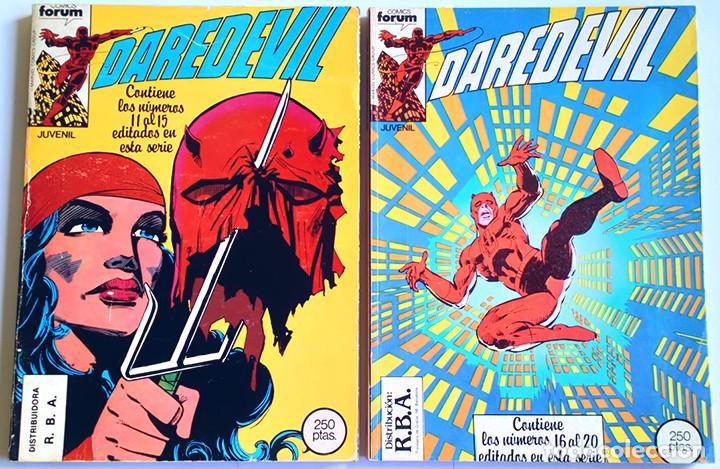 Cómics: Daredevil Vol 1 Completa / Marvel / Forum 1983 - 1986 - Foto 7 - 240071210