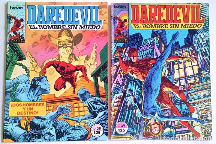 Cómics: Daredevil Vol 1 Completa / Marvel / Forum 1983 - 1986 - Foto 15 - 240071210