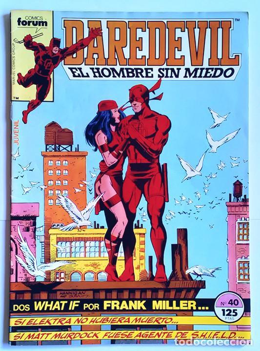 Cómics: Daredevil Vol 1 Completa / Marvel / Forum 1983 - 1986 - Foto 17 - 240071210
