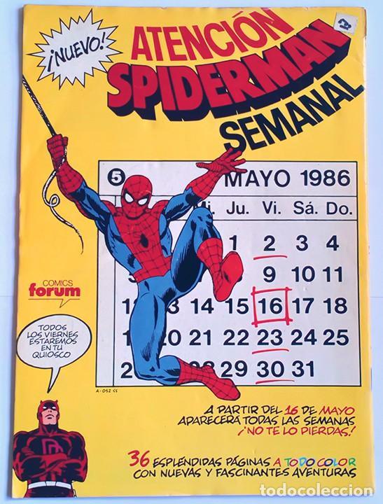 Cómics: Daredevil Vol 1 Completa / Marvel / Forum 1983 - 1986 - Foto 18 - 240071210