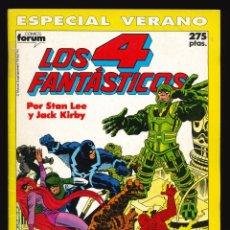 Cómics: LOS 4 FANTÁSTICOS (VOL. 1) - COMICS FORUM / ESPECIAL VERANO (1990). Lote 240087070
