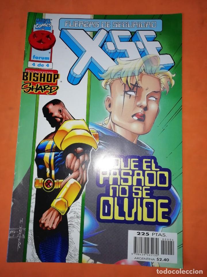 FUERZAS DE SEGURIDAD X S E. Nº 4 DE 4. FORUM. (Tebeos y Comics - Forum - X-Men)