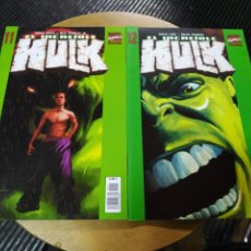 Comics : EL INCREÍBLE HULK VOL 2 LOTE DE 2N° 11-12 (FORUM). Lote 240175870