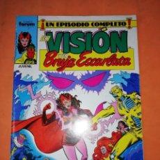 Cómics: LA VISION Y LA BRUJA ESCARLATA. FORUM. GRAPA . Nº 6.. Lote 240230150