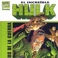 Cómics: HULK. LOS PERROS DE LA GUERRA. FORUM .PAUL JENKINS/RON GARNEY. Lote 240247385
