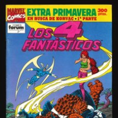 Cómics: LOS 4 FANTÁSTICOS (VOL. 1) - COMICS FORUM / EXTRA PRIMAVERA (1992). Lote 240280815