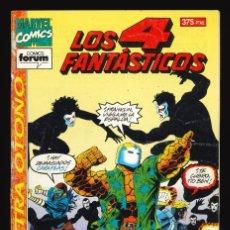 Cómics: LOS 4 FANTÁSTICOS (VOL. 1) - COMICS FORUM / EXTRA OTOÑO (1994). Lote 240281165