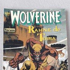 Cómics: WOLVERINE LOBEZNO RAHNE DE TERRA FORUM. Lote 240356565