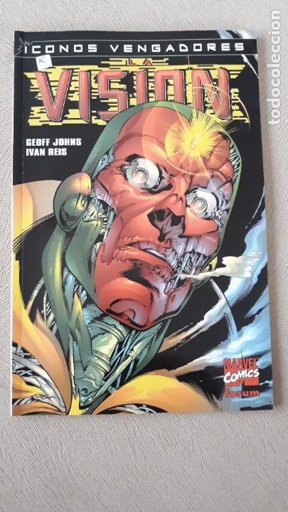 ICONOS VENGADORES LA VISIÓN FORUM GEOFF JOHNS IVAN REIS (Tebeos y Comics - Forum - Iron Man)