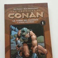 Cómics: CRONICAS DE CONAN VOLUMEN 1, BARRY SMITH, CON LA ESPECTACULAR EDICIÓN RECOLOREADA DE DARK HORSE.. Lote 240366235