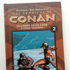Cómics: CRONICAS DE CONAN VOLUMEN 2, CON BARRY SMITH EN LA ESPECTACULAR EDICIÓN RECOLOREADA DE DARK HORSE.. Lote 240366640