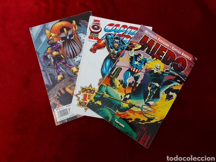 Cómics: CAPITÁN AMÉRICA-MOTORISTA FANTASMA-CIUDADANO V- HEROES REBORN-MIEDO-COMIC FORUM-MARVEL-ESPECIAL 1999 - Foto 2 - 240418685