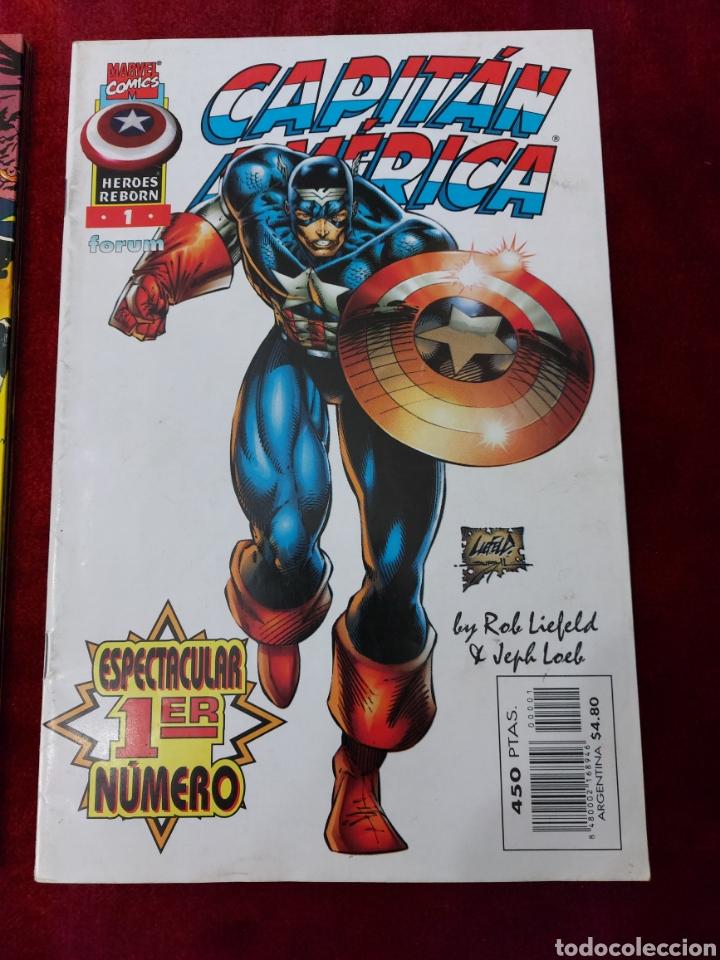 Cómics: CAPITÁN AMÉRICA-MOTORISTA FANTASMA-CIUDADANO V- HEROES REBORN-MIEDO-COMIC FORUM-MARVEL-ESPECIAL 1999 - Foto 4 - 240418685