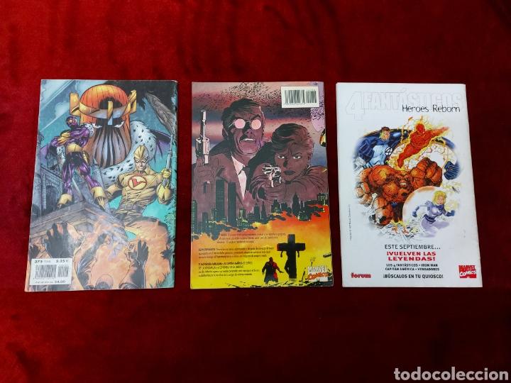 Cómics: CAPITÁN AMÉRICA-MOTORISTA FANTASMA-CIUDADANO V- HEROES REBORN-MIEDO-COMIC FORUM-MARVEL-ESPECIAL 1999 - Foto 6 - 240418685