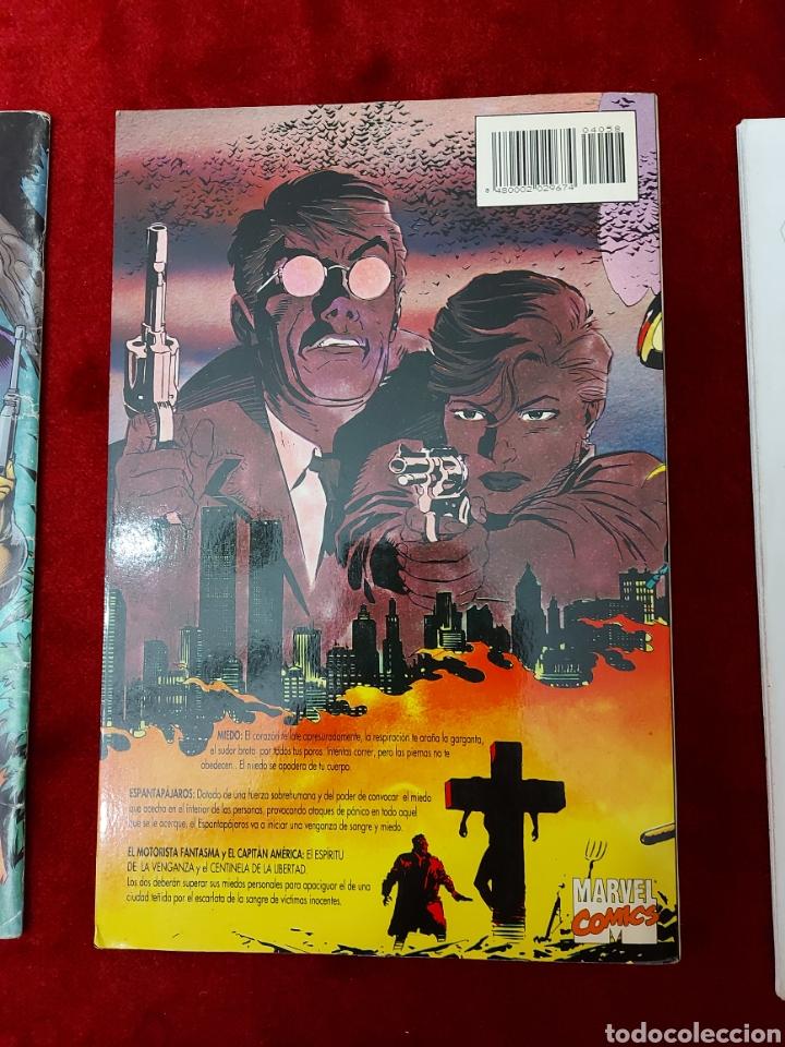 Cómics: CAPITÁN AMÉRICA-MOTORISTA FANTASMA-CIUDADANO V- HEROES REBORN-MIEDO-COMIC FORUM-MARVEL-ESPECIAL 1999 - Foto 7 - 240418685