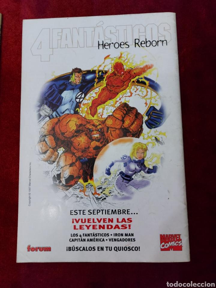Cómics: CAPITÁN AMÉRICA-MOTORISTA FANTASMA-CIUDADANO V- HEROES REBORN-MIEDO-COMIC FORUM-MARVEL-ESPECIAL 1999 - Foto 9 - 240418685