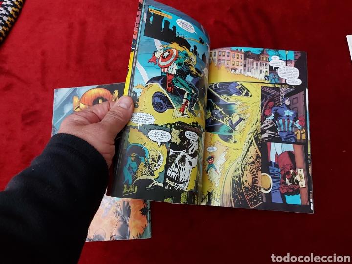 Cómics: CAPITÁN AMÉRICA-MOTORISTA FANTASMA-CIUDADANO V- HEROES REBORN-MIEDO-COMIC FORUM-MARVEL-ESPECIAL 1999 - Foto 16 - 240418685