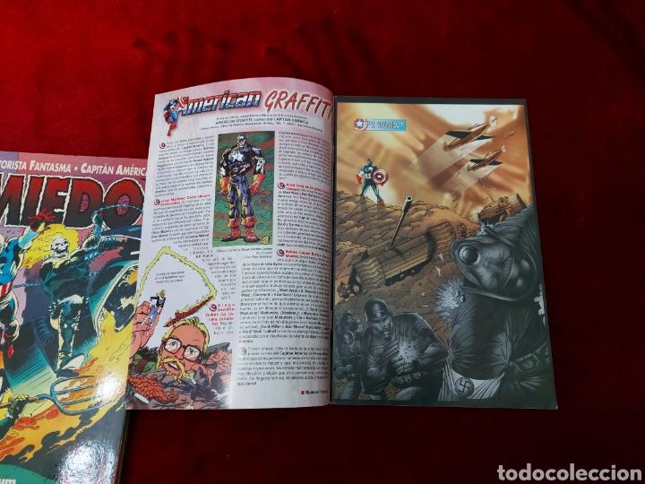 Cómics: CAPITÁN AMÉRICA-MOTORISTA FANTASMA-CIUDADANO V- HEROES REBORN-MIEDO-COMIC FORUM-MARVEL-ESPECIAL 1999 - Foto 17 - 240418685