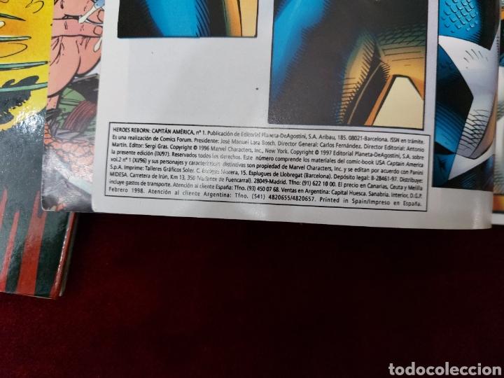 Cómics: CAPITÁN AMÉRICA-MOTORISTA FANTASMA-CIUDADANO V- HEROES REBORN-MIEDO-COMIC FORUM-MARVEL-ESPECIAL 1999 - Foto 18 - 240418685