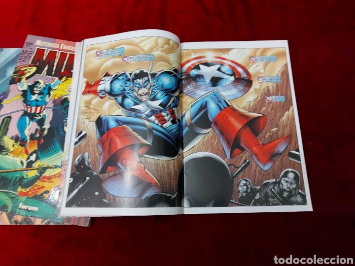 Cómics: CAPITÁN AMÉRICA-MOTORISTA FANTASMA-CIUDADANO V- HEROES REBORN-MIEDO-COMIC FORUM-MARVEL-ESPECIAL 1999 - Foto 19 - 240418685