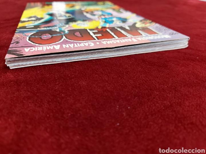 Cómics: CAPITÁN AMÉRICA-MOTORISTA FANTASMA-CIUDADANO V- HEROES REBORN-MIEDO-COMIC FORUM-MARVEL-ESPECIAL 1999 - Foto 30 - 240418685