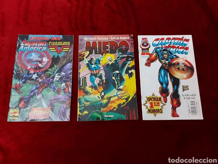 CAPITÁN AMÉRICA-MOTORISTA FANTASMA-CIUDADANO V- HEROES REBORN-MIEDO-COMIC FORUM-MARVEL-ESPECIAL 1999 (Tebeos y Comics - Forum - Capitán América)
