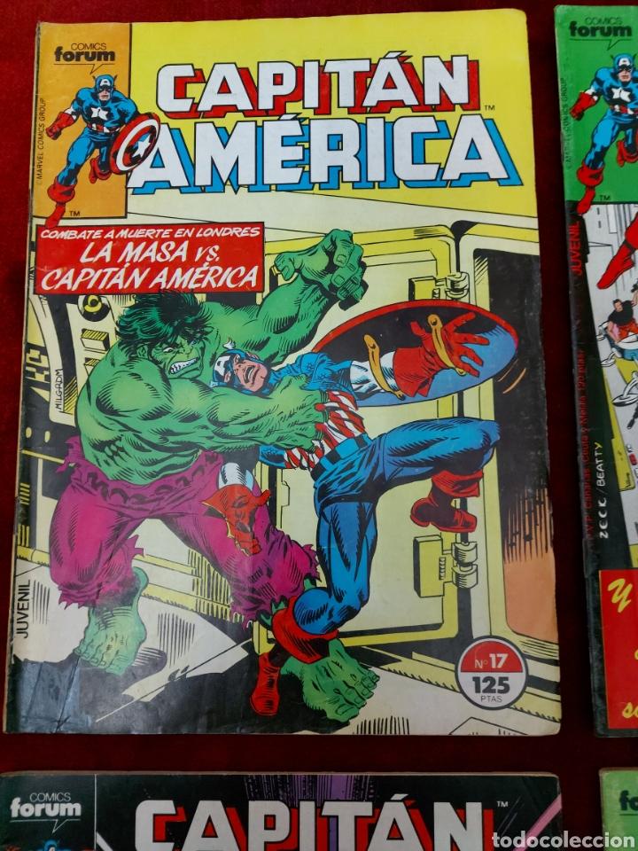 Cómics: CAPITÁN AMÉRICA LOTE DE 8 COMIC, NUMEROS:17,20,21,22,23,24,25 Y 36 ,COMICS FORUM MARVEL/SUPER HEROES - Foto 4 - 240435100