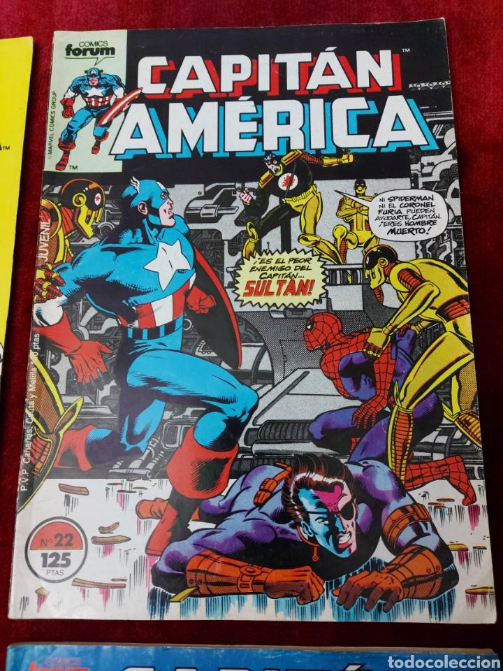 Cómics: CAPITÁN AMÉRICA LOTE DE 8 COMIC, NUMEROS:17,20,21,22,23,24,25 Y 36 ,COMICS FORUM MARVEL/SUPER HEROES - Foto 5 - 240435100