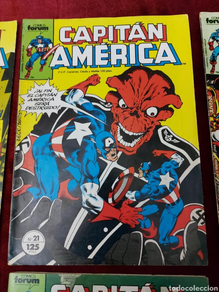 Cómics: CAPITÁN AMÉRICA LOTE DE 8 COMIC, NUMEROS:17,20,21,22,23,24,25 Y 36 ,COMICS FORUM MARVEL/SUPER HEROES - Foto 6 - 240435100