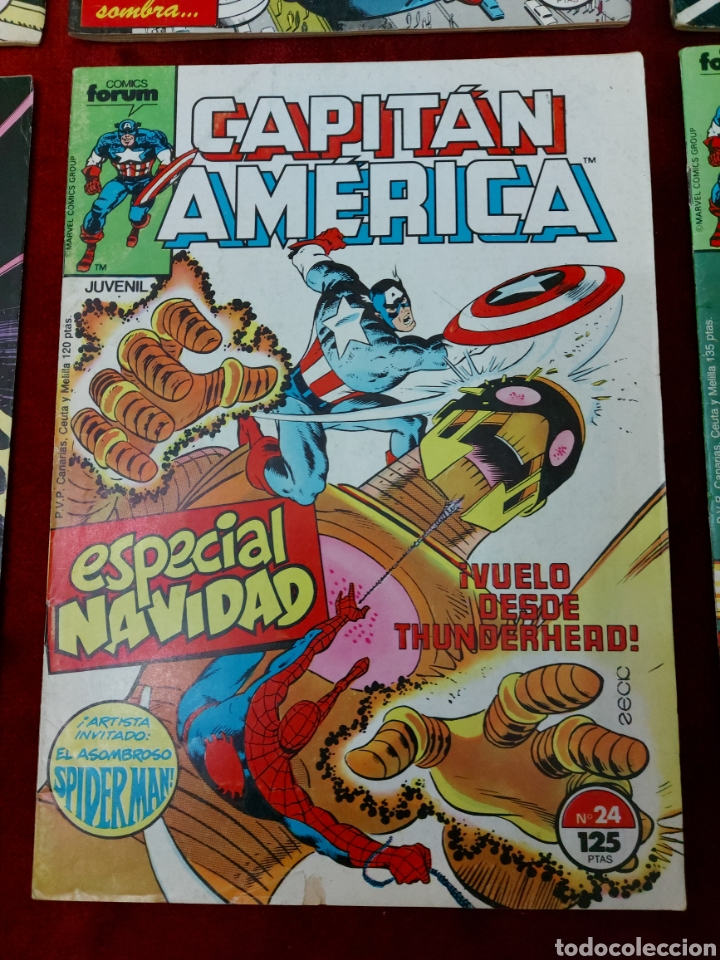 Cómics: CAPITÁN AMÉRICA LOTE DE 8 COMIC, NUMEROS:17,20,21,22,23,24,25 Y 36 ,COMICS FORUM MARVEL/SUPER HEROES - Foto 7 - 240435100