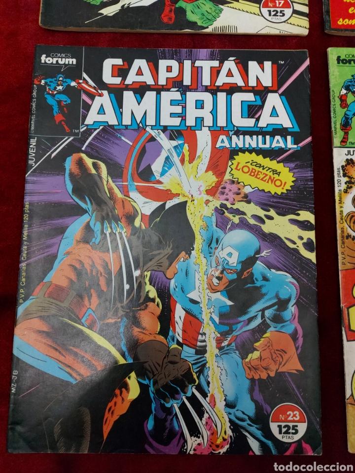 Cómics: CAPITÁN AMÉRICA LOTE DE 8 COMIC, NUMEROS:17,20,21,22,23,24,25 Y 36 ,COMICS FORUM MARVEL/SUPER HEROES - Foto 8 - 240435100