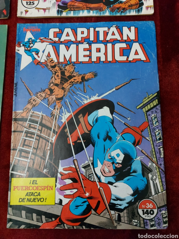 Cómics: CAPITÁN AMÉRICA LOTE DE 8 COMIC, NUMEROS:17,20,21,22,23,24,25 Y 36 ,COMICS FORUM MARVEL/SUPER HEROES - Foto 9 - 240435100