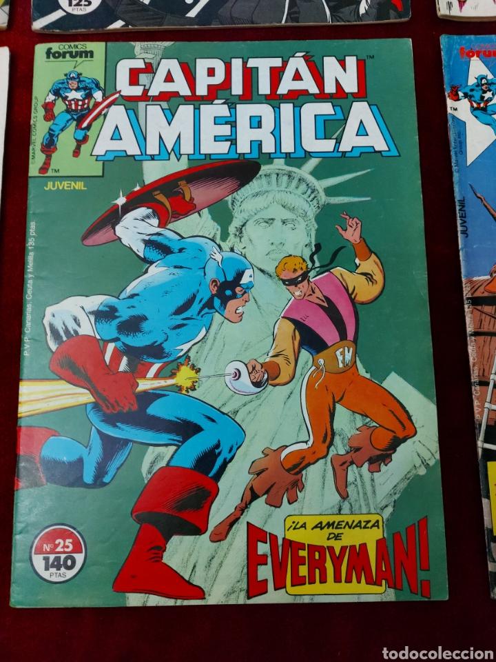 Cómics: CAPITÁN AMÉRICA LOTE DE 8 COMIC, NUMEROS:17,20,21,22,23,24,25 Y 36 ,COMICS FORUM MARVEL/SUPER HEROES - Foto 10 - 240435100