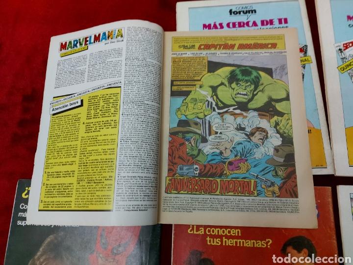 Cómics: CAPITÁN AMÉRICA LOTE DE 8 COMIC, NUMEROS:17,20,21,22,23,24,25 Y 36 ,COMICS FORUM MARVEL/SUPER HEROES - Foto 22 - 240435100