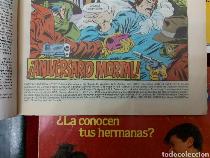 Cómics: CAPITÁN AMÉRICA LOTE DE 8 COMIC, NUMEROS:17,20,21,22,23,24,25 Y 36 ,COMICS FORUM MARVEL/SUPER HEROES - Foto 23 - 240435100