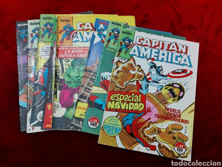 CAPITÁN AMÉRICA LOTE DE 8 COMIC, NUMEROS:17,20,21,22,23,24,25 Y 36 ,COMICS FORUM MARVEL/SUPER HEROES (Tebeos y Comics - Forum - Capitán América)