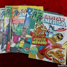 Cómics: CAPITÁN AMÉRICA LOTE DE 8 COMIC, NUMEROS:17,20,21,22,23,24,25 Y 36 ,COMICS FORUM MARVEL/SUPER HEROES. Lote 240435100