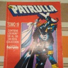 Cómics: PATRULLA X TOMO 19 COMIC MARVEL. Lote 240524415