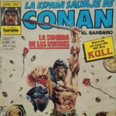 Cómics: LA ESPADA SALVAJE DE CONAN - № 83 LA SOMBRA DE LOS BUITRES.. Lote 240527870